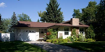 A typical home found in the Brevoort Park area of Saskatoon
