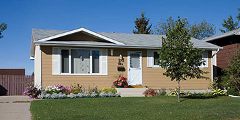 A typical home found in the Confederation Park area of Saskatoon